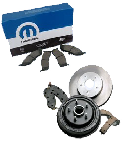 Mopar Complete Front Brake Kit for 2005-2010 Grand Cherokee WK and 2006-2010 Commander XK