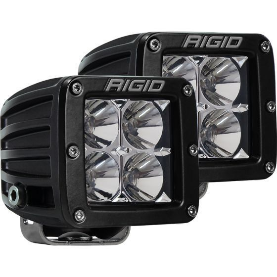 """Rigid Industries D-Series Pro 3"""" LED Surface Mount Cube Lights (Comes as Pair)"""