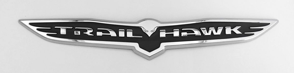 Grey Trailhawk Badge
