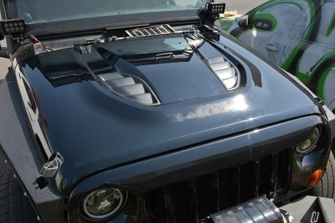 DV8 10th Anniversary Jeep JK Hood