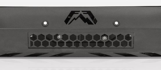 Fab Fours Front Center Light Box Cover for Vengeance Front Bumper