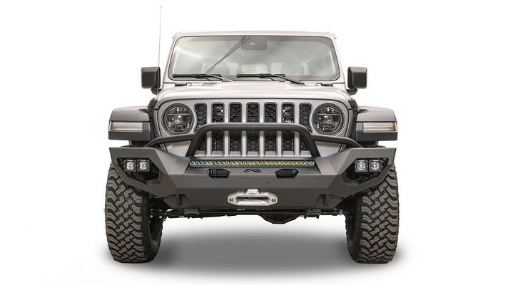 Fab Fours Matrix Front Bumper for 2018-2021 Wrangler JL and 2020 Gladiator JT