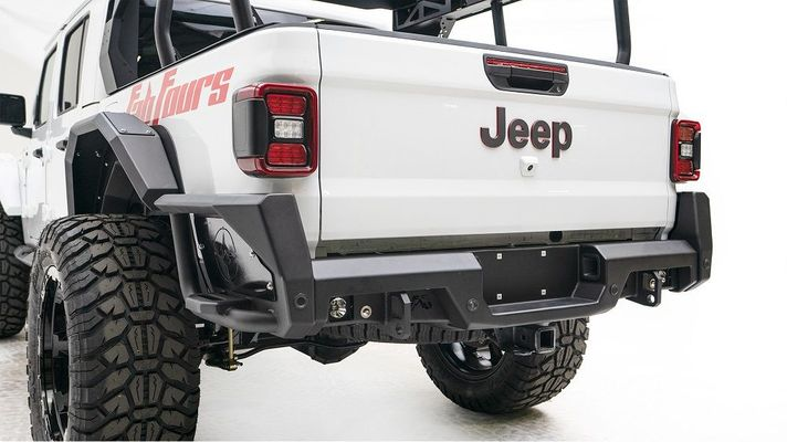 Fab Fours Rear Bumper for 2020 Gladiator JT