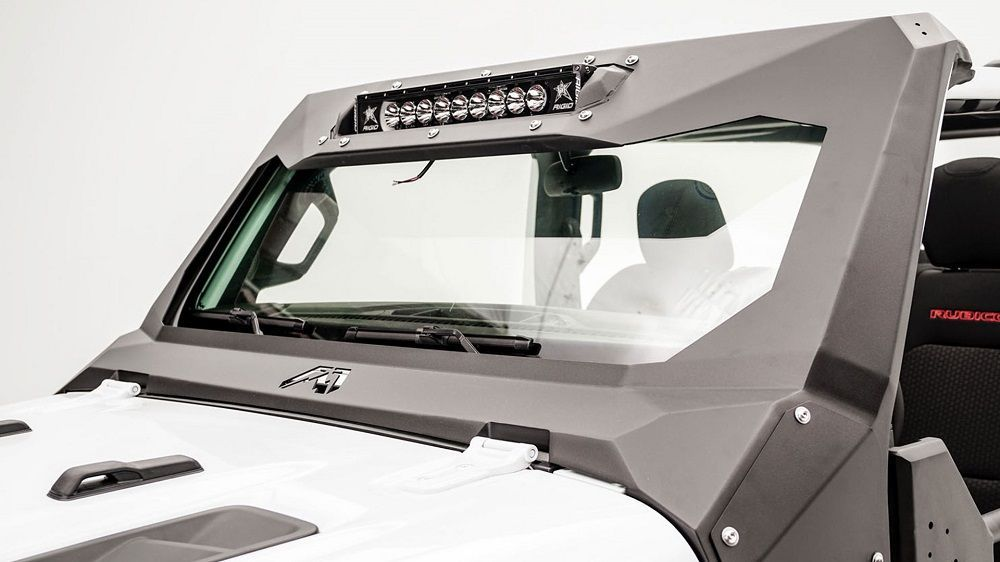 Fab Fours ViCowl Light Inserts for 2018-2021 Wrangler JL and 2020 Gladiator JT