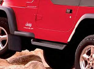 Factory Style Side Steps for TJ Wrangler