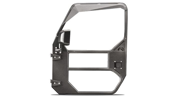 Fab Fours Front Full Surround Tube Door for 2018-2021 Wrangler JL and 2020 Gladiator JT