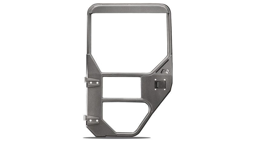 Fab Fours Rear Full Surround Tube Door for 2018-2021 Wrangler JL and 2020 Gladiator JT