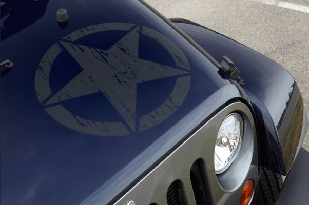 "Freedom Edition ""Star"" Hood Decal"