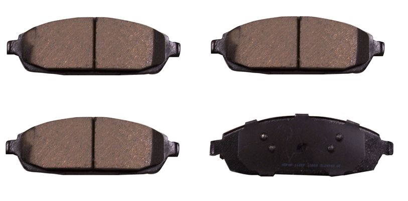 Mopar Front Brake Pad Kit for 2005-2010 Grand Cherokee WK and 2006-2010 Commander XK