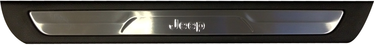 Mopar Front Door Scuff Plates for 2011-2020 Grand Cherokee WK2