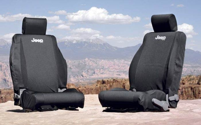 Jeep Wrangler Seat Covers >> Front Seat Covers For 2007 2018 Wrangler Jk