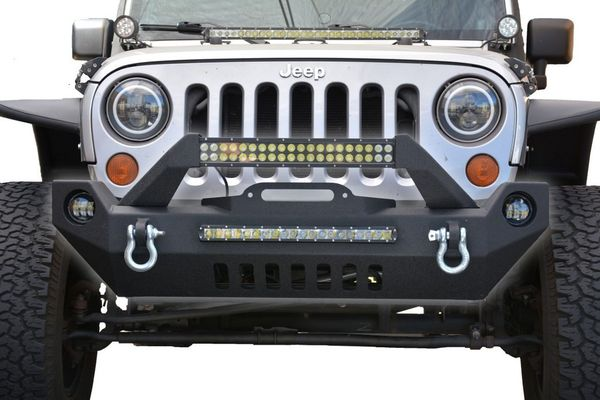DV8 FS-17 Hammer Forged Front Bumper