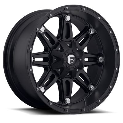 Fuel Off-Road Hostage Matte Black Wheel