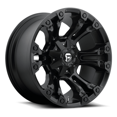 Fuel Off-Road D560 Vapor Matte Black Wheel for 2007-2019 Wrangler JK/JL and 2020 Gladiator JT