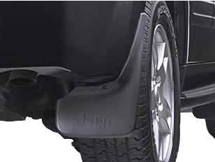 Mopar Deluxe Molded Splash Guards for 2005-2010 Grand Cherokee WK