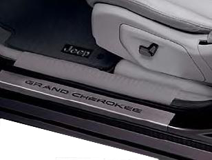 Grand Cherokee Door Entry Guards