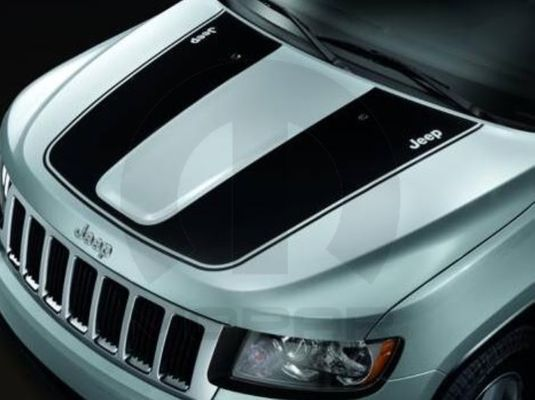 Grand Cherokee Hood Decal