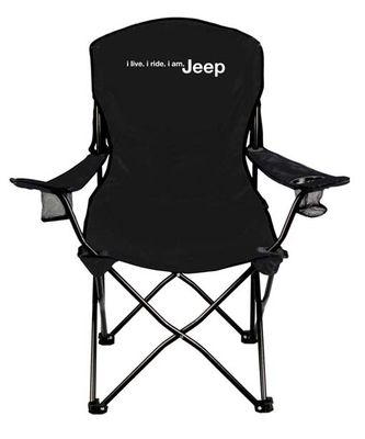 i live. i ride. i am. Jeep Folding Chair