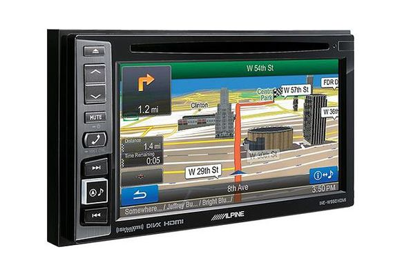 "Alpine INE-W960HDMI 6.1"" In-Dash DVD/GPS Navigation Receiver with Sirius XM Tuner"