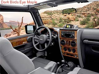 Interior Trim Applique - 2-Door Wrangler