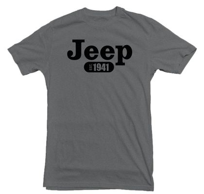 Jeep 1941 Grey T-Shirt