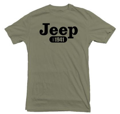 Jeep 1941 Military Green T-Shirt