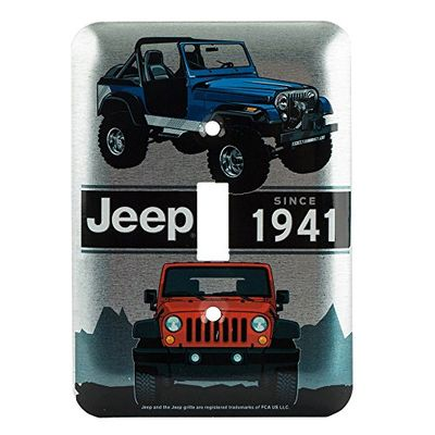 Jeep Collage Switch Plate