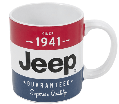 16oz Jeep Flag Ceramic Mug