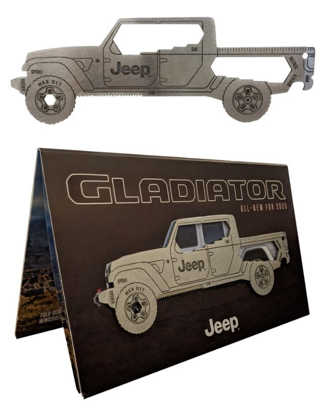 Jeep Gladiator JT Multi-Tool and Reveal Brochure #12G6A