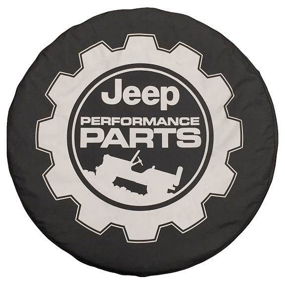 Jeep Performance Parts >> Performance Tire Cover 82214401 Justforjeeps Com 82214401