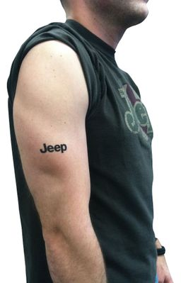 Jeep Temporary Tattoo - Pack of 10