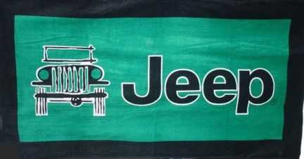 Jeep Towel2GO Beach & Seat Towel