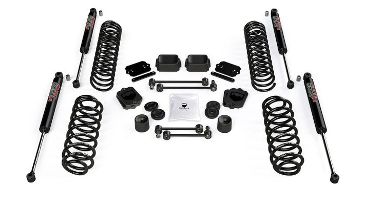 "Teraflex 2.5"" Coil Spring Base Lift Kit w/ 9550 VSS Twin Tube Shocks for Wrangler JL"