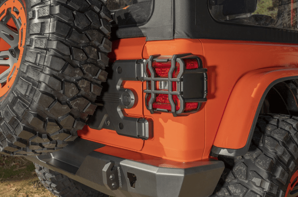 Rugged Ridge JL Elite Taillight Guards for LED Tail Lights