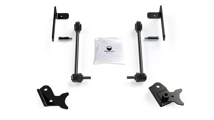 "Teraflex Front Sway Bar Quick Disconnect Kit (0-4.5"" Lift) for 2018-2020 Wrangler JL and 2020 Gladiator JT"