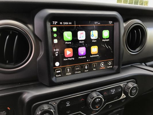 "Infotainment 8.4"" 4C NAV UAQ Radio with Apple Carplay & Android Auto for 2018-2021 Wrangler JL and 2020-2021 Gladiator JT"
