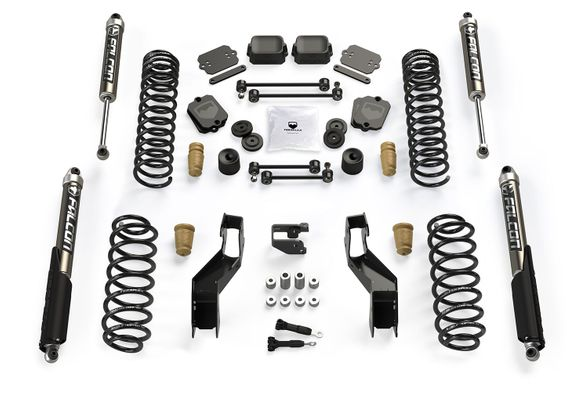 "Teraflex 3"" Sport S/T3 Suspension System w/ 2.1 Falcon Shocks for Wrangler JL"