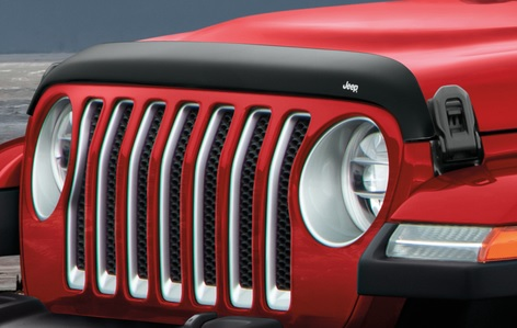 Mopar Front Air Deflector for 2018-2020 Wrangler JL and 2020 Gladiator JT