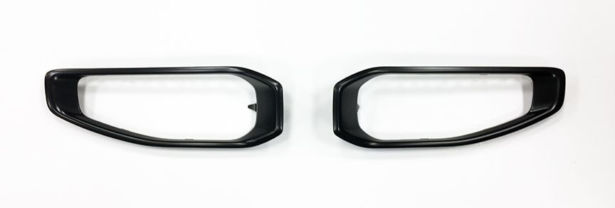 JL Wrangler Paintable Fog Lamp Bezels