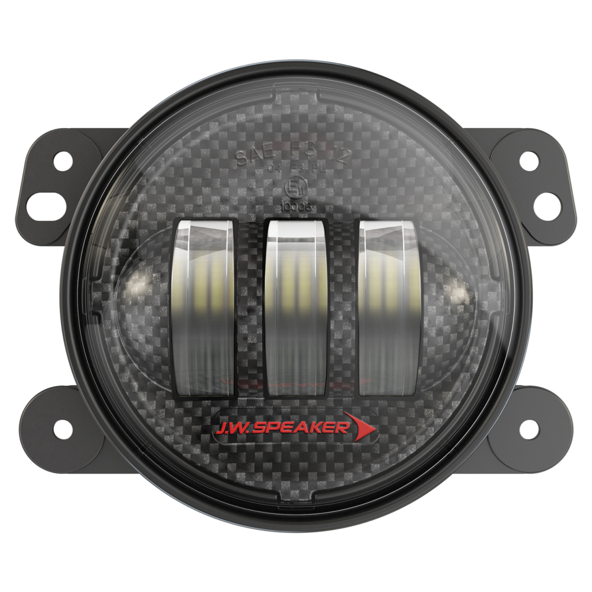 JW Speaker LED Fog Lights Model 6145 J2 Series for 2007-2018 Wrangler JK
