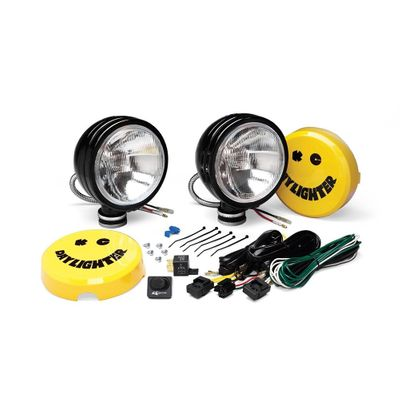 "KC HiLiTES 6"" Daylighter Halogen Pair Pack System for 1997-2020 All Jeeps"