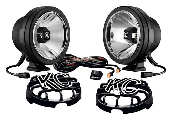 KC HiLiTES Pro-Sport with Gravity LED G6 Pair Pack System for All Jeeps