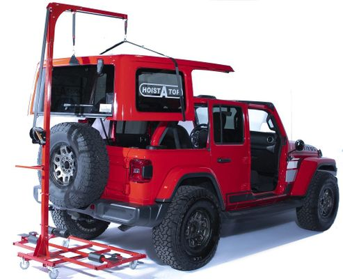 Lange Originals Hoist-A-Cart Gen2 for 2007-2021 Wrangler JK/JL