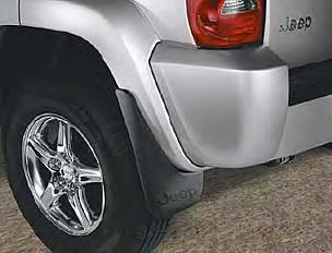 KJ Liberty Deluxe Molded Splash Guards
