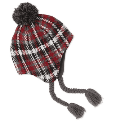 Life is good Women's Plaid Trapper Winter Hat