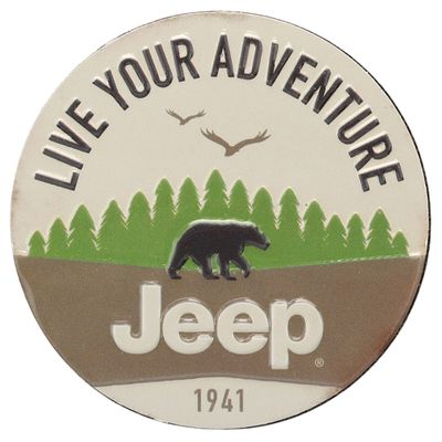 Live Your Adventure Tin Magnet