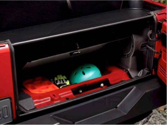 Lockable Cover Cubby Compartment