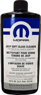 Mopar Jeep Soft Glass Cleaner