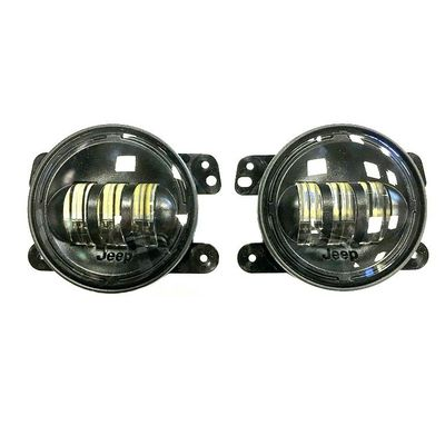 Mopar LED Fog Lights for 2007-2018 Wrangler JK (Standard Plastic Bumper)
