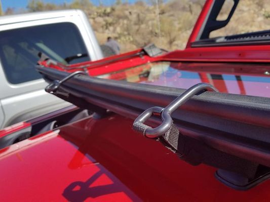 Mopar Windshield Tie Down for 2018-2020 Wrangler JL and 2020 Gladiator JT